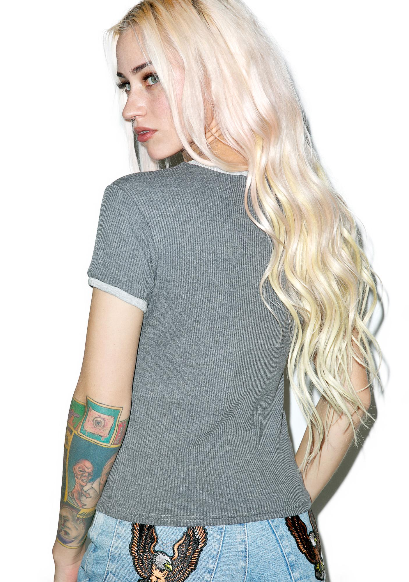 The Ragged Priest Spread Eagle Ringer Tee
