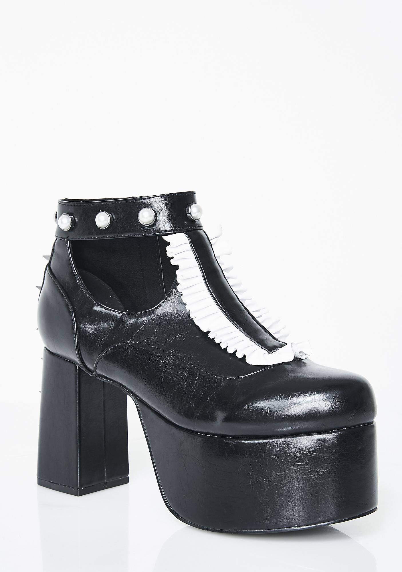 Disturbia Lolita Platform Shoes