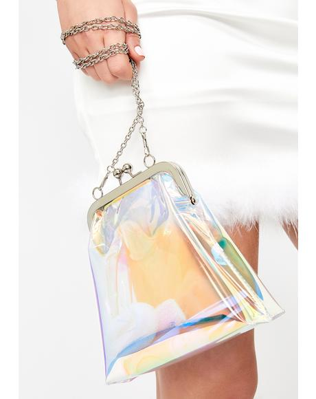 Cosmic Mermaid Hologram Purse