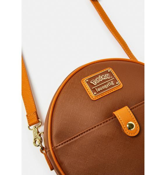 Loungefly Evee Evolutions Circle Crossbody Bag