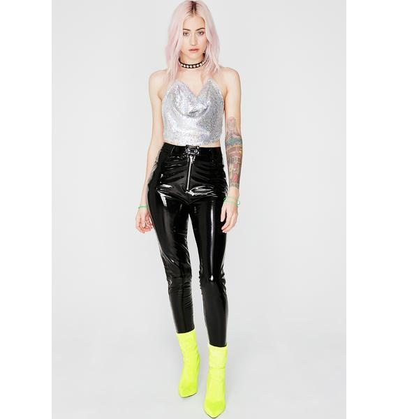 Disco Wet Dreamin' Sequin Top