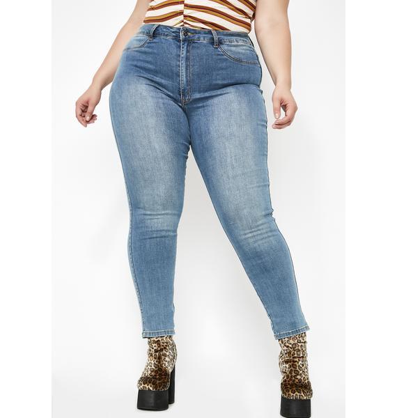 Sky Always Slayin' Daily High Rise Jeans