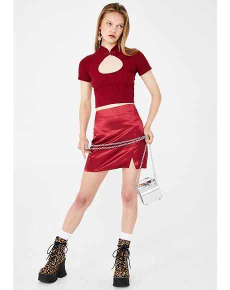 Summertime Romance Mini Skirt