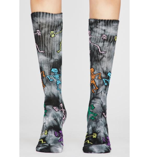 Phantom Funny Bone Tie Dye Socks