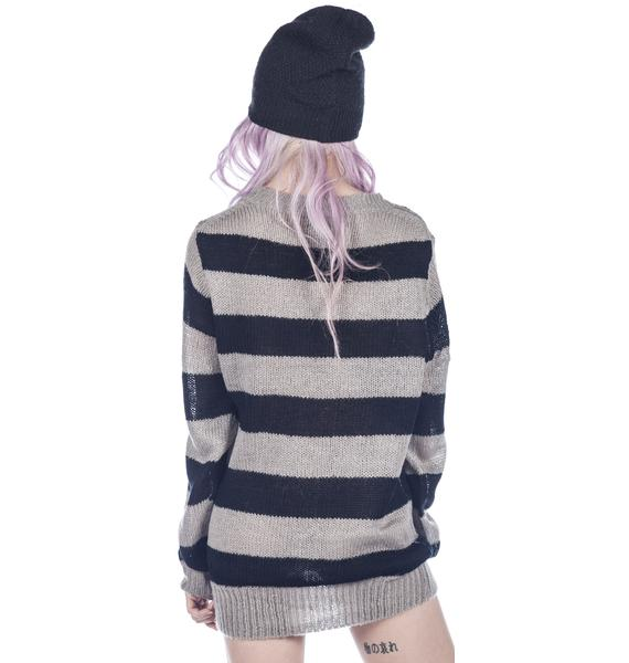 UNIF Cross Sweater