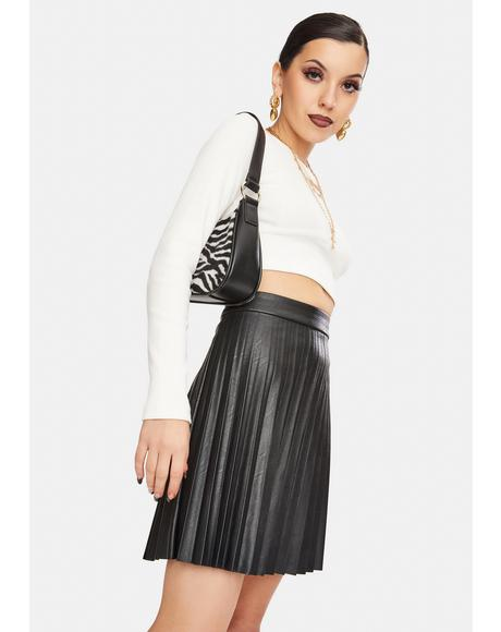 Private School Pleated Skirt
