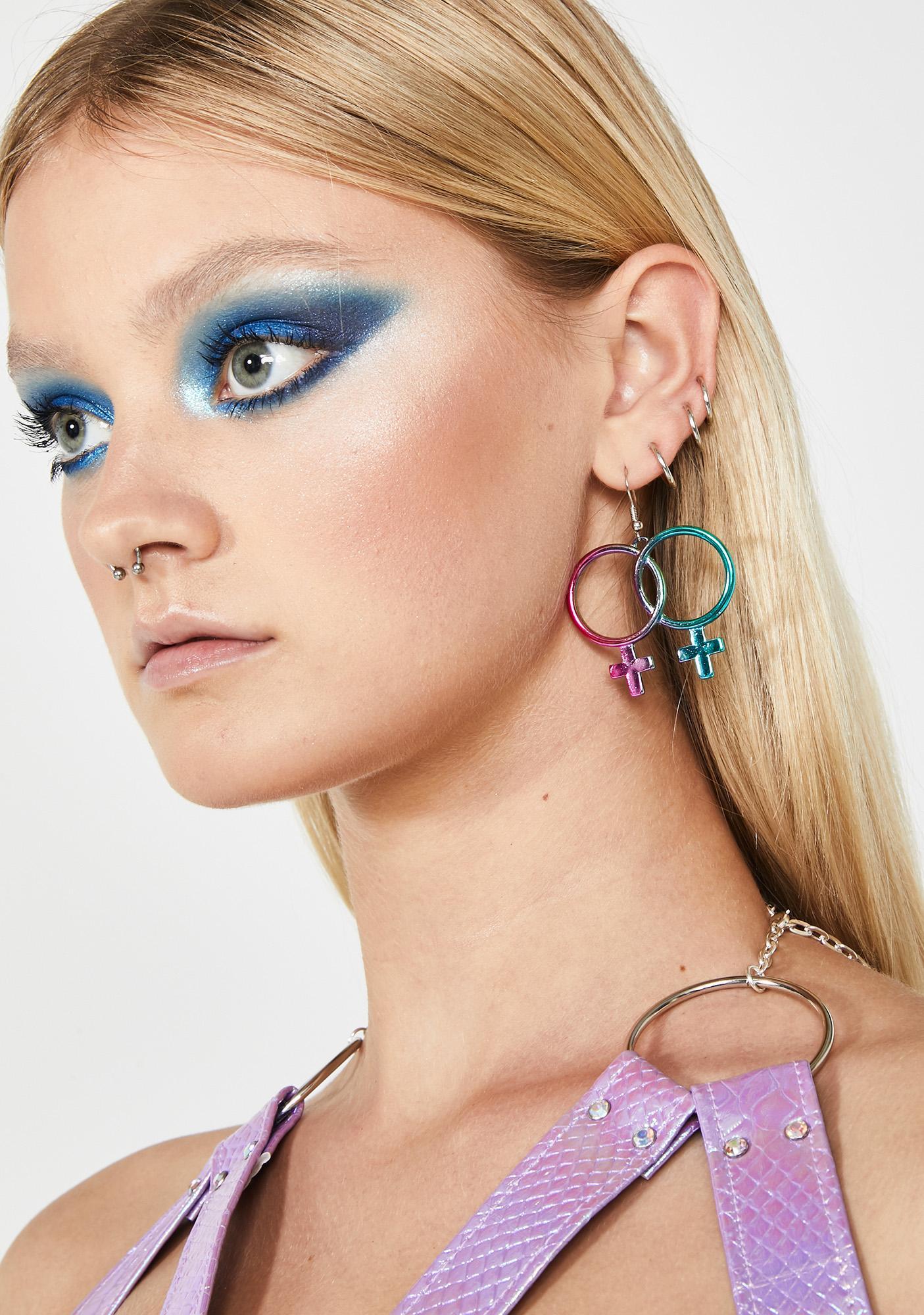 Fempower Hoop Earrings