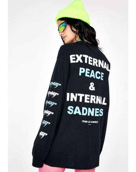 External Peace Graphic Tee
