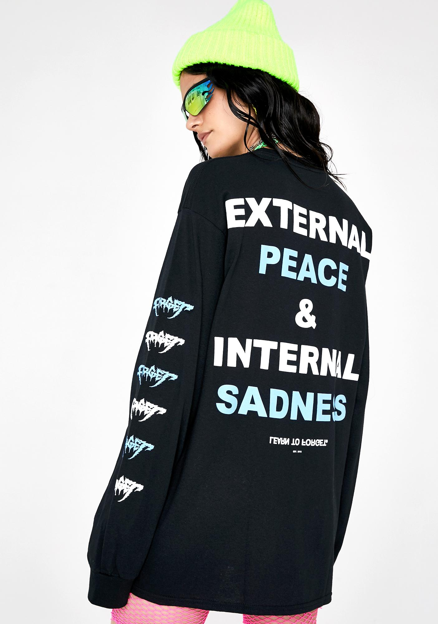 Learn To Forget External Peace Graphic Tee