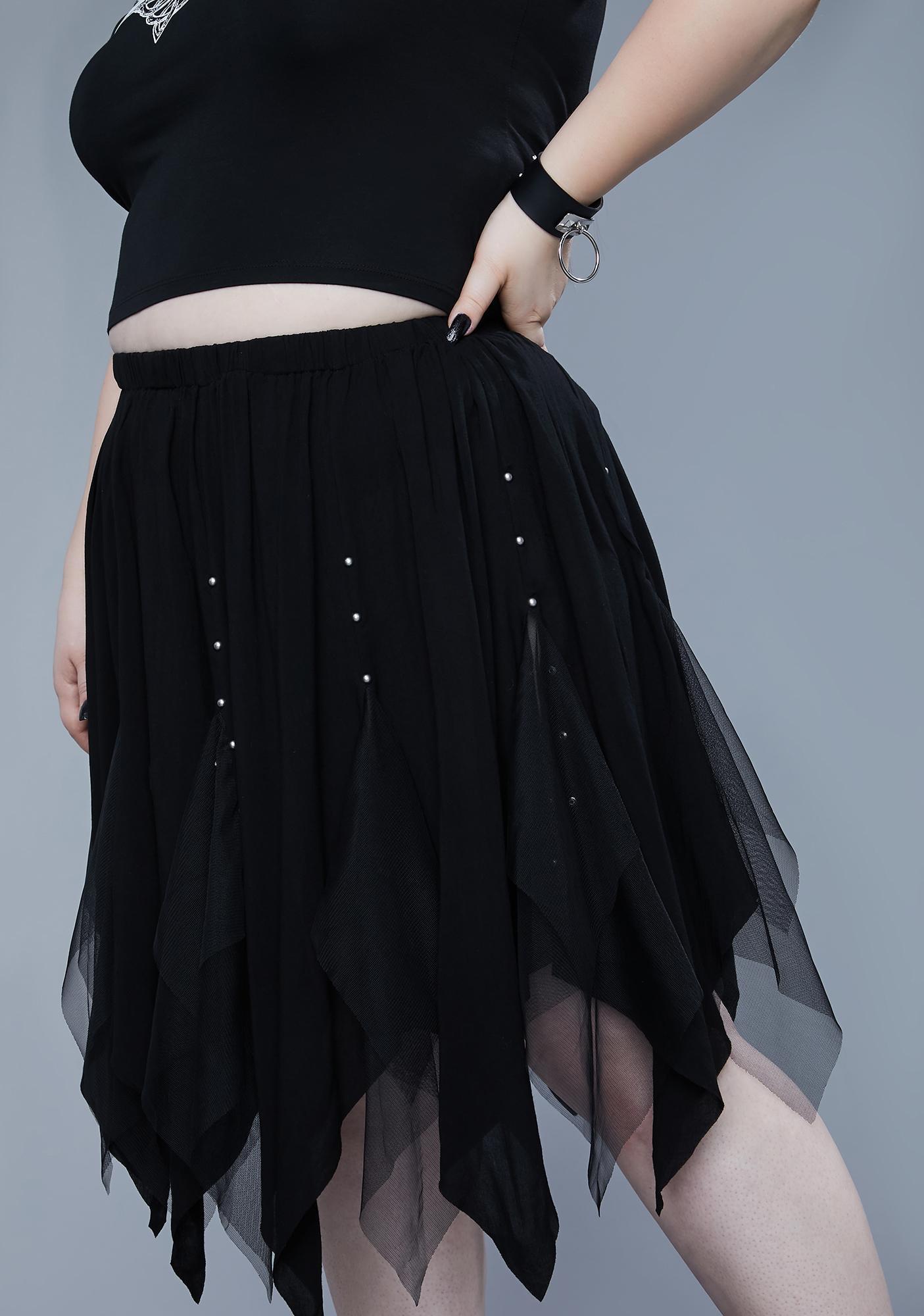Widow I'll Light The Fire Midi Skirt