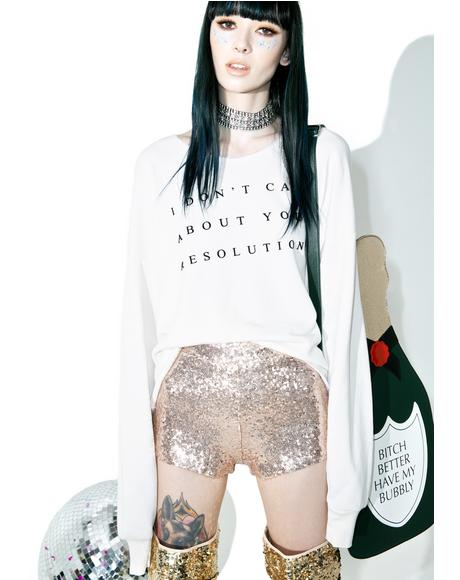Fizzy Feelins Sequin Shorts