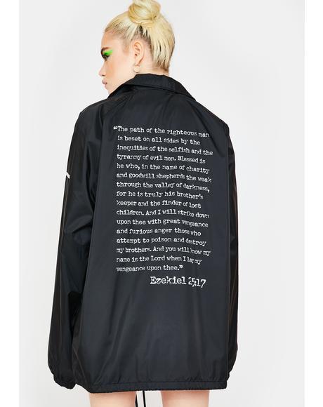 x Pulp Fiction Coaches Jacket