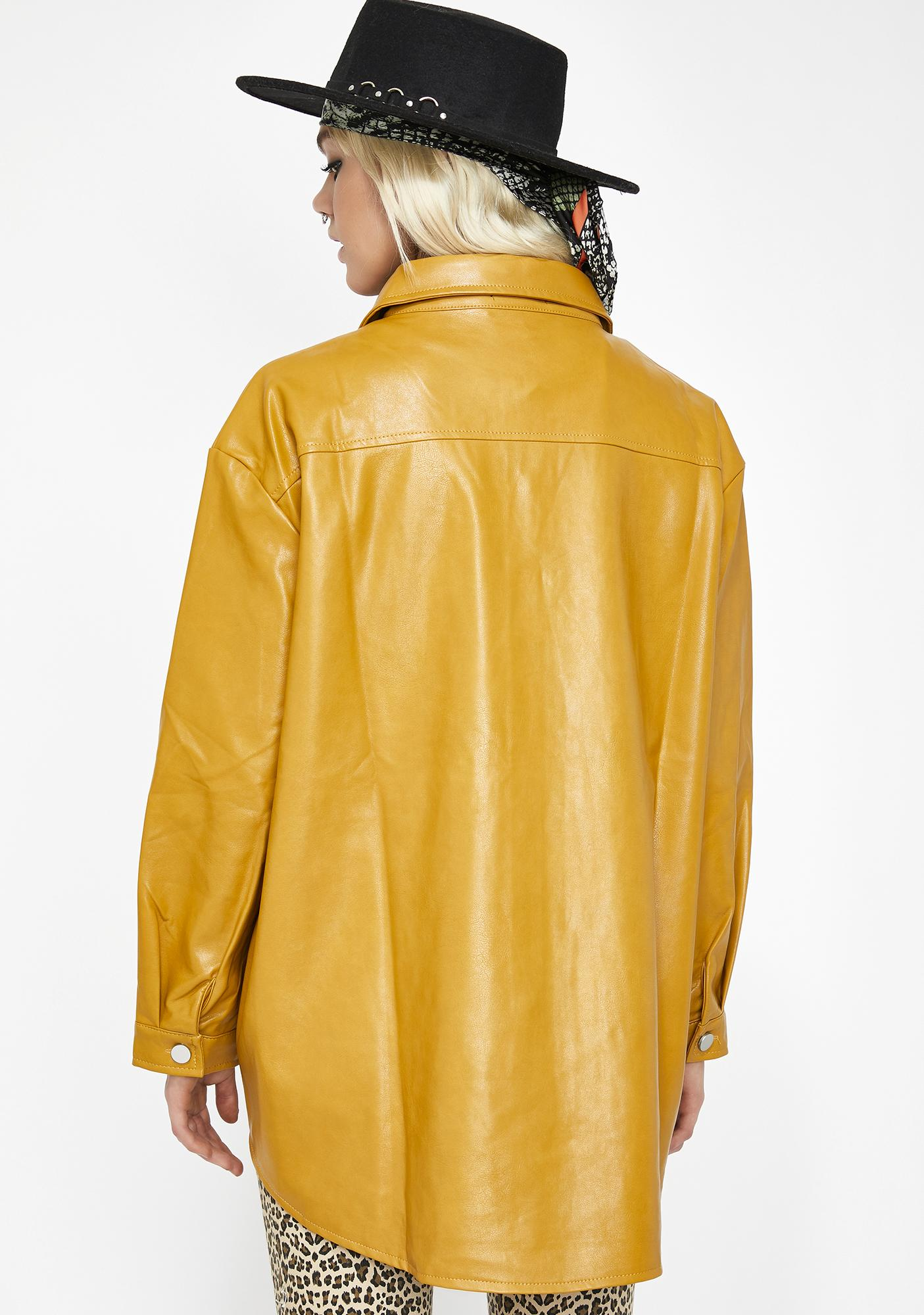 Silent Killa Leather Shirt