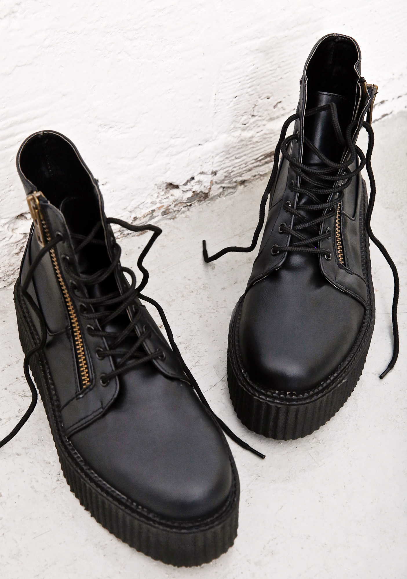 Demonia Punisher High Top Creepers