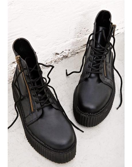 Punisher High Top Creepers