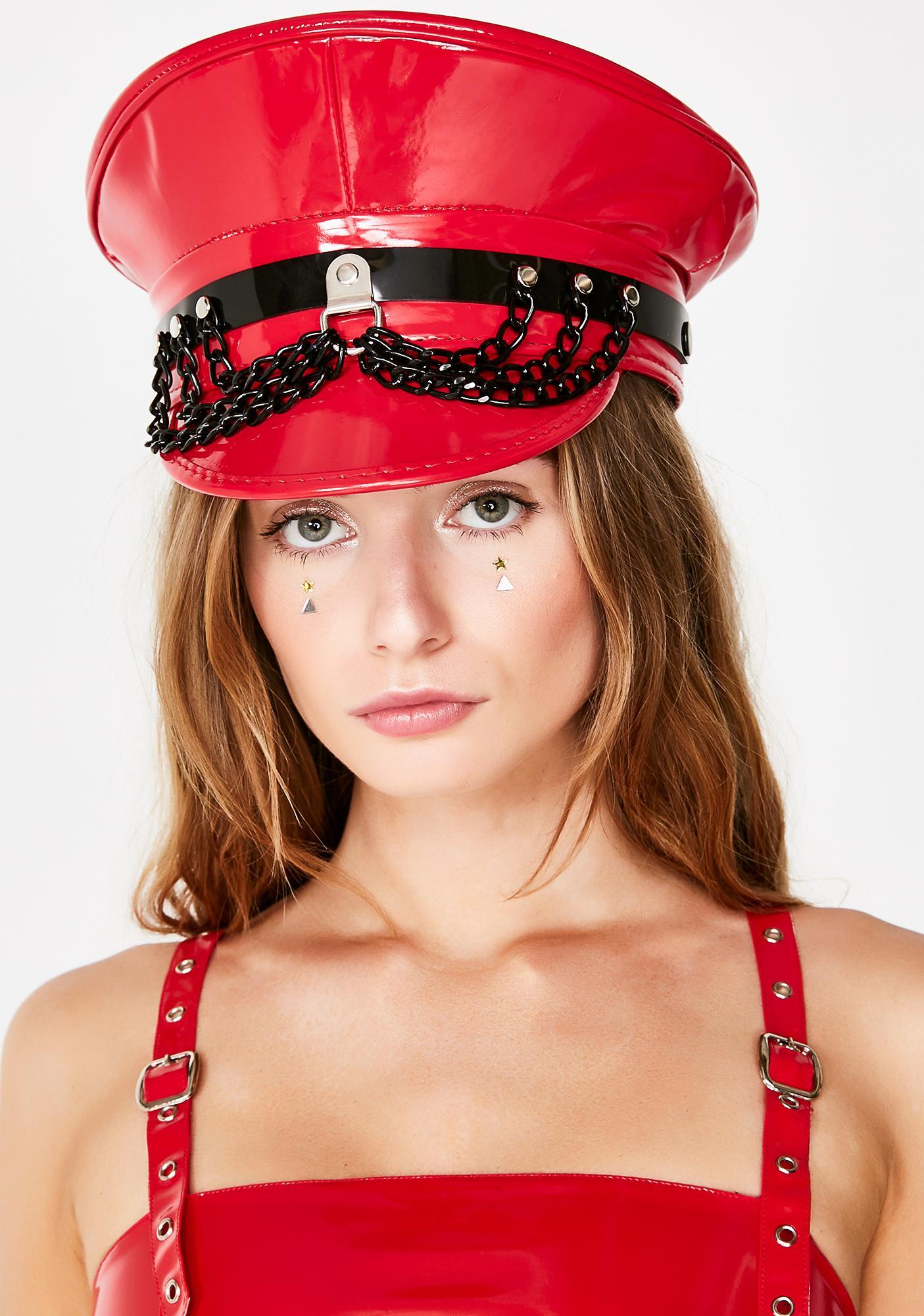 Lit City Of Sin Captain Hat