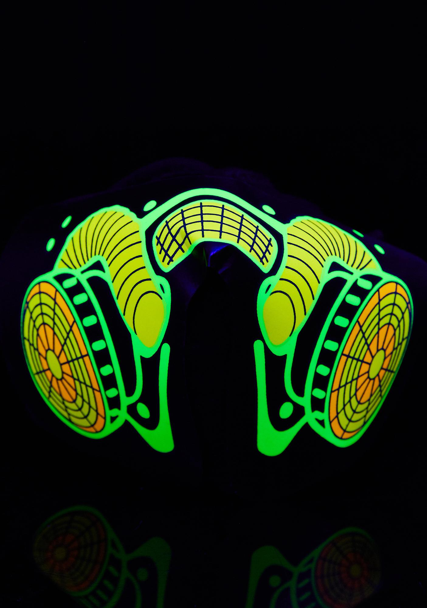 Club Exx Apoca-Lit Sound Reactive Dust Mask