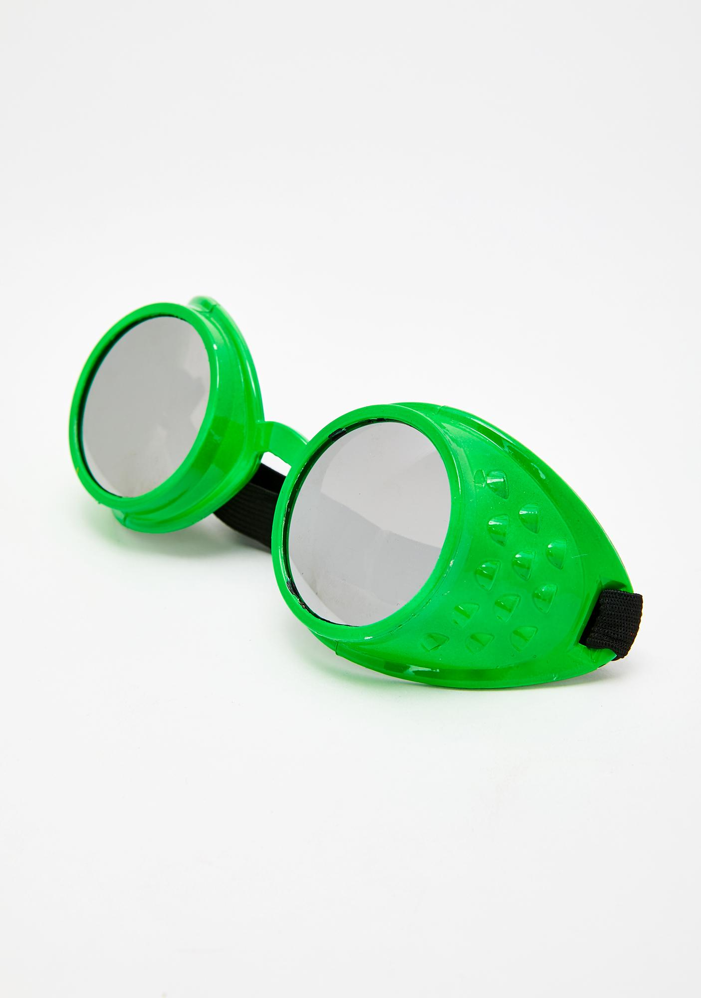 Cosmic Alien Tinted Goggles
