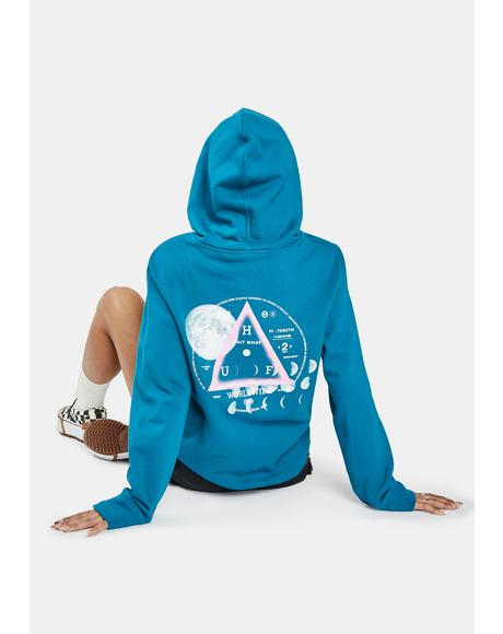 Moons Graphic Pullover Hoodie