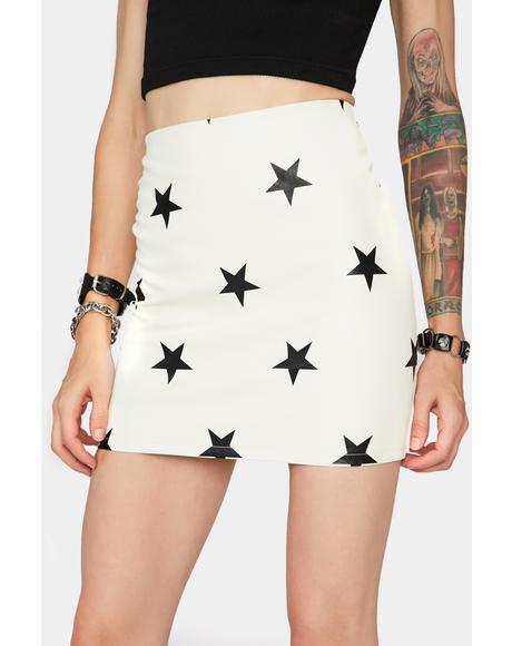 Pure Starry Eyed Surprise Mini Skirt