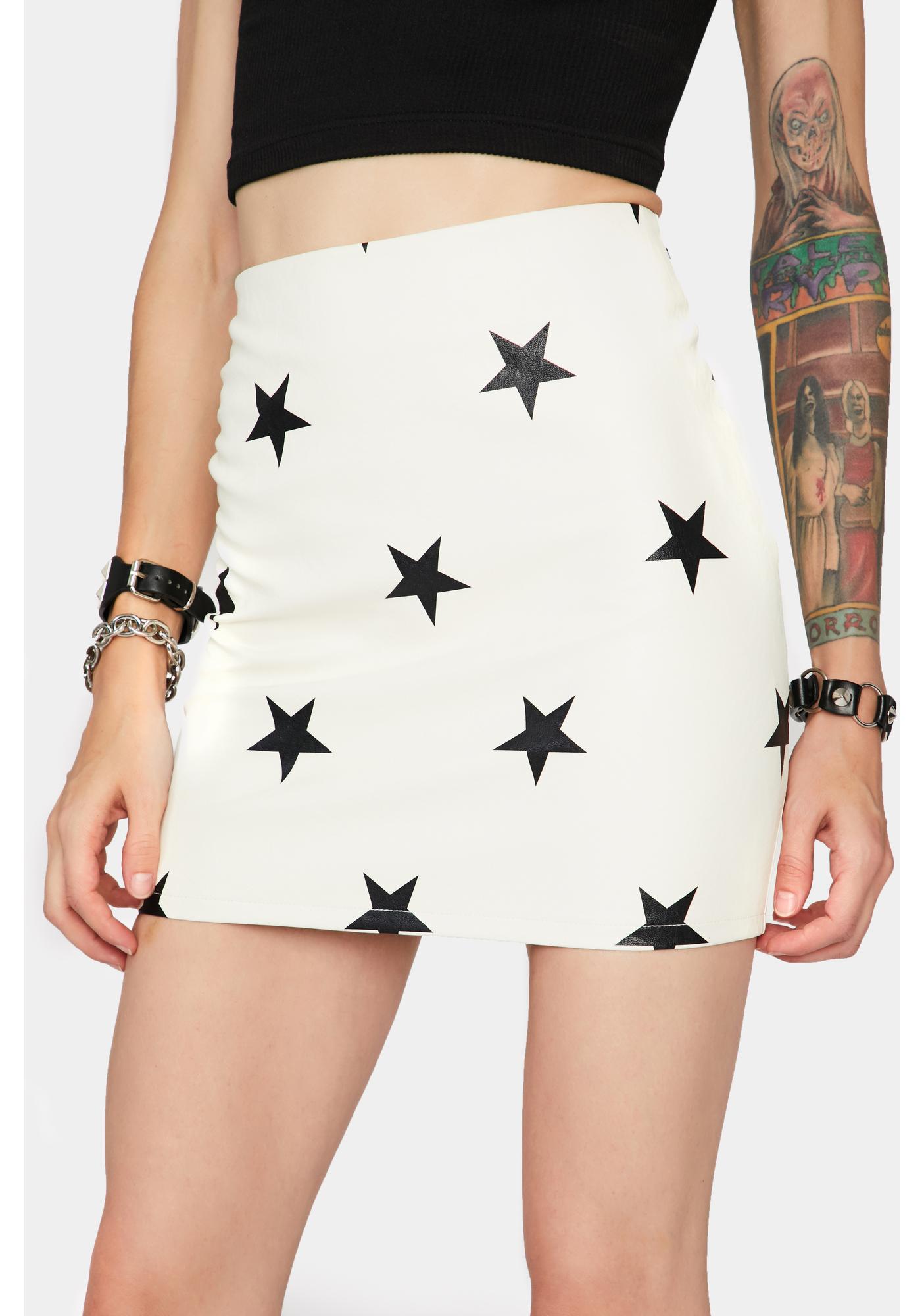 Pure Starry Eyed Surprise Mini Skirt