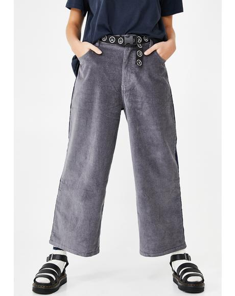 Two Halves Corduroy Pants
