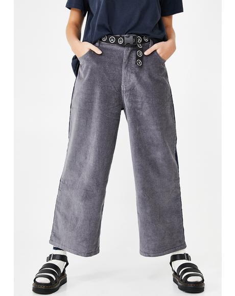 Two Halves Corduroy Pants