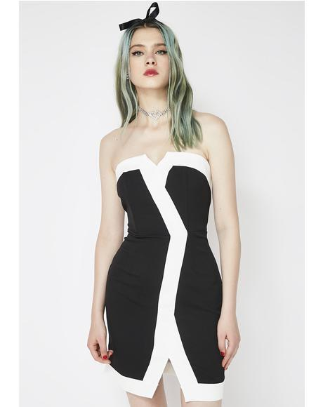 Swipe Right Asymmetrical Dress