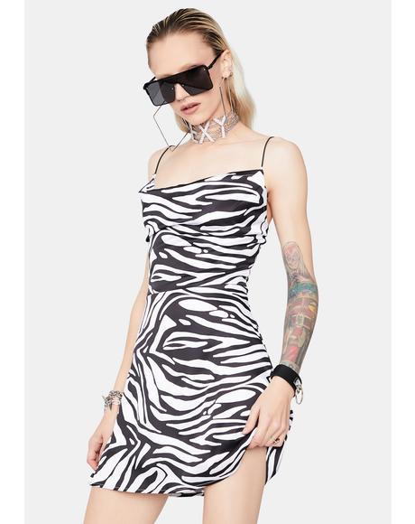 Animal Attitude Mini Dress