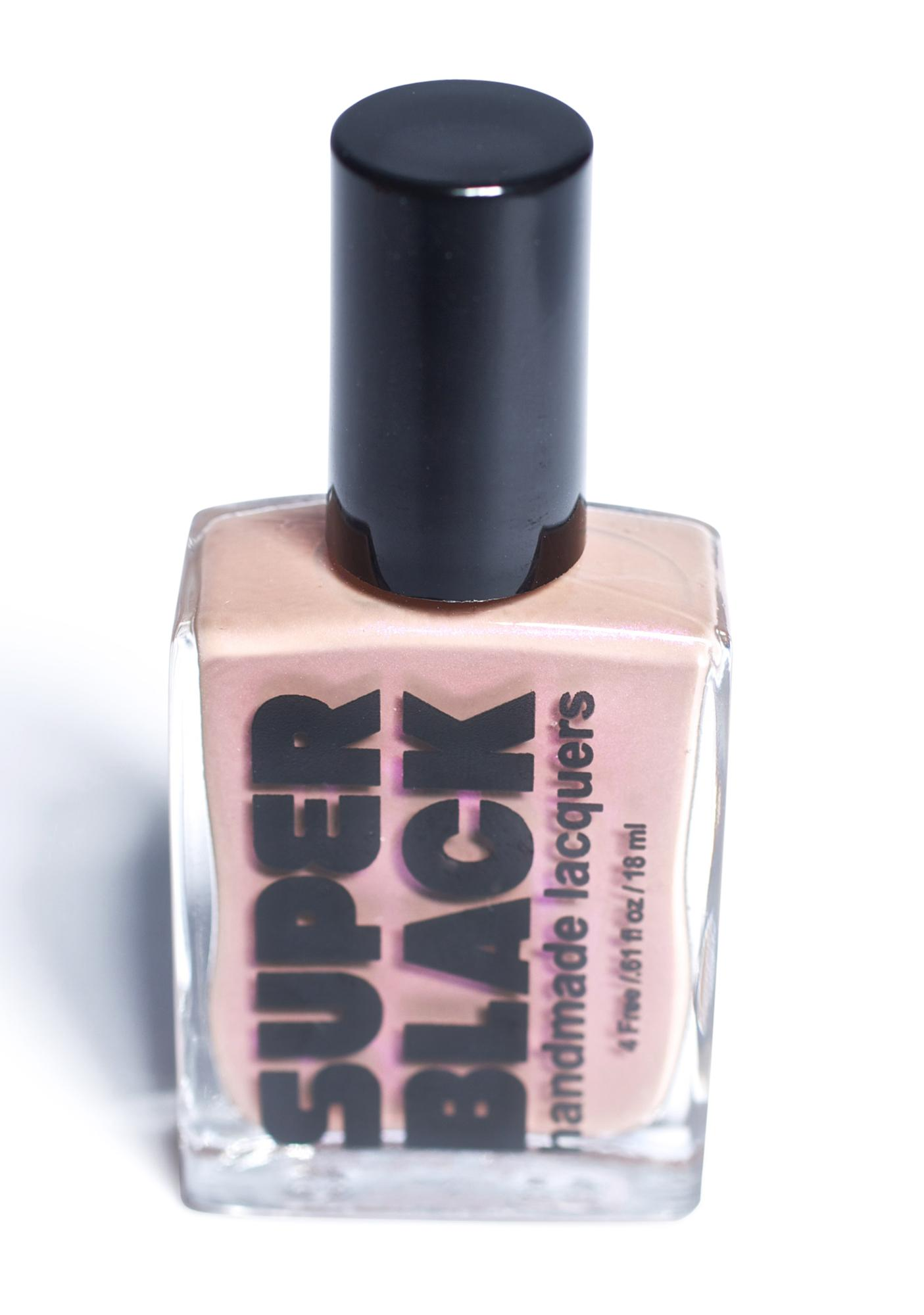SUPER BLACK The Perfectionist Nail Polish