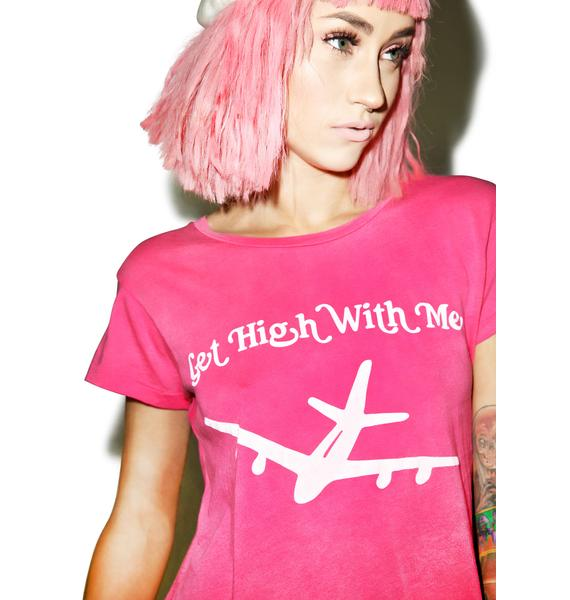 Wildfox Couture Get High With Me Sleepover Tee