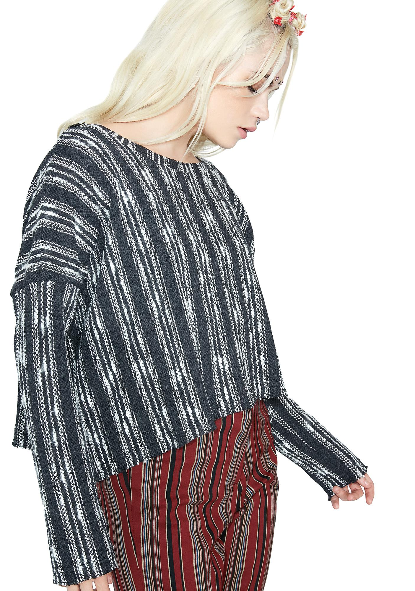 Along The Coast Striped Sweater