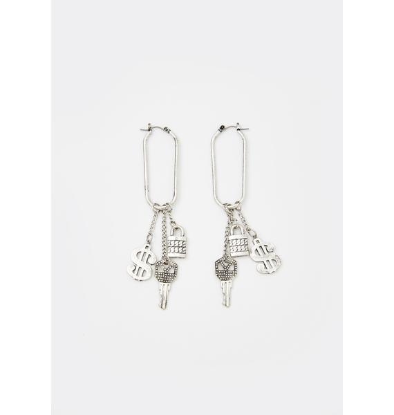 Keys To The Benz Drop Earrings