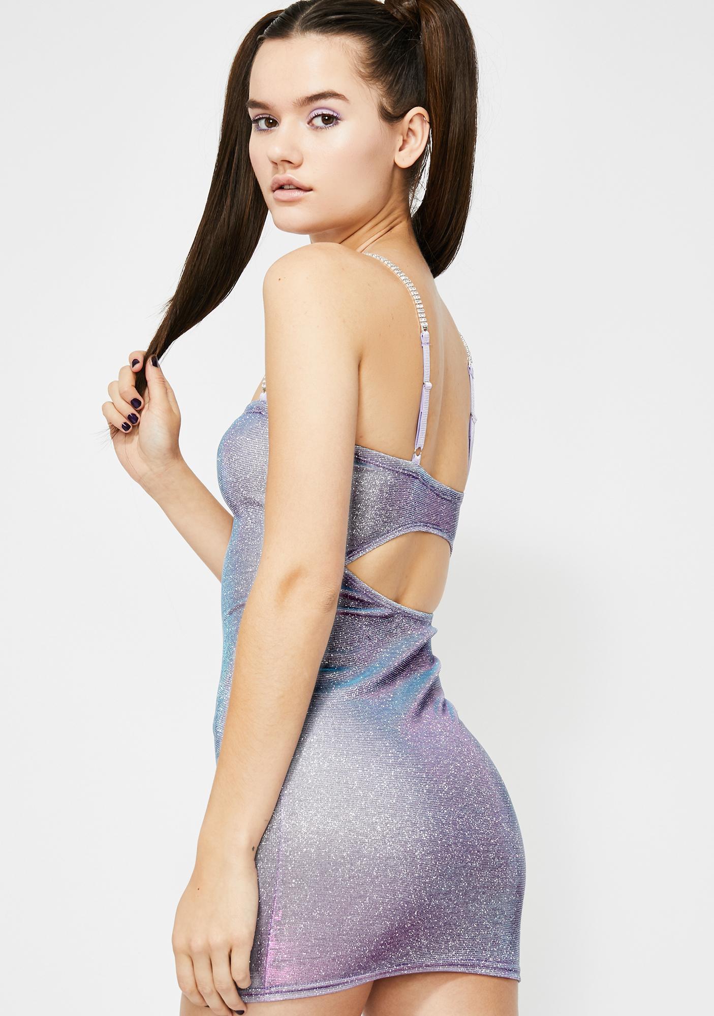 HOROSCOPEZ Trance Melody Sparkle Dress