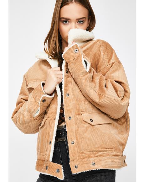 Woodstone Cord Reversible Jacket