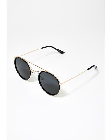 All Aboard Aviator Sunglasses