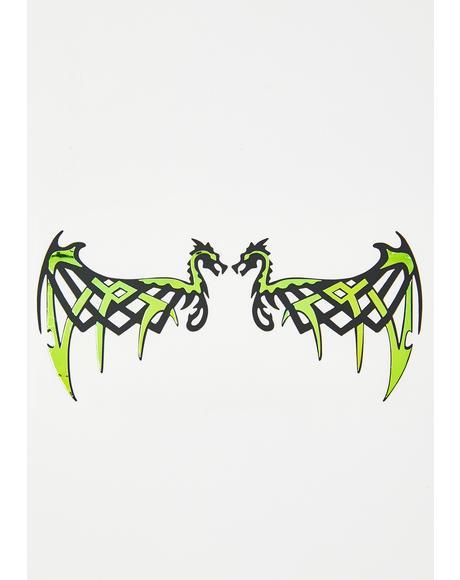 Dragonova Eye Stickers