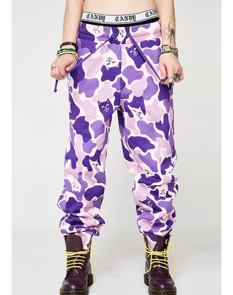 Nermal Camo Sweatpants