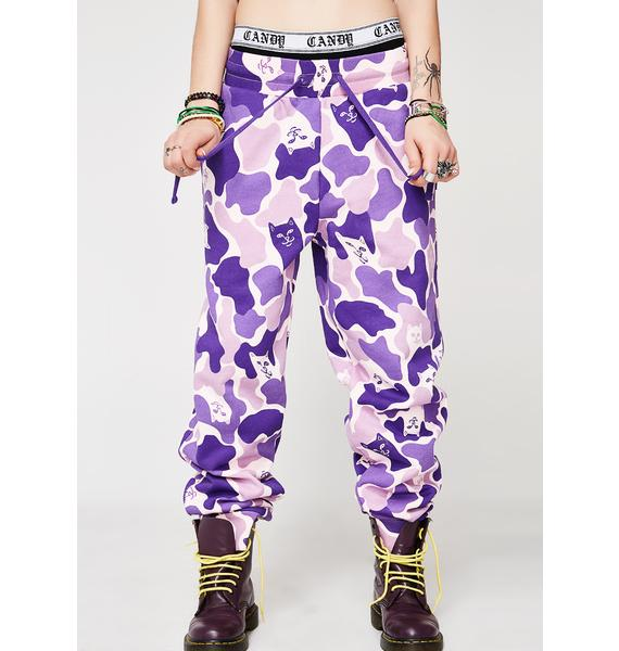 RIPNDIP Nermal Camo Sweatpants