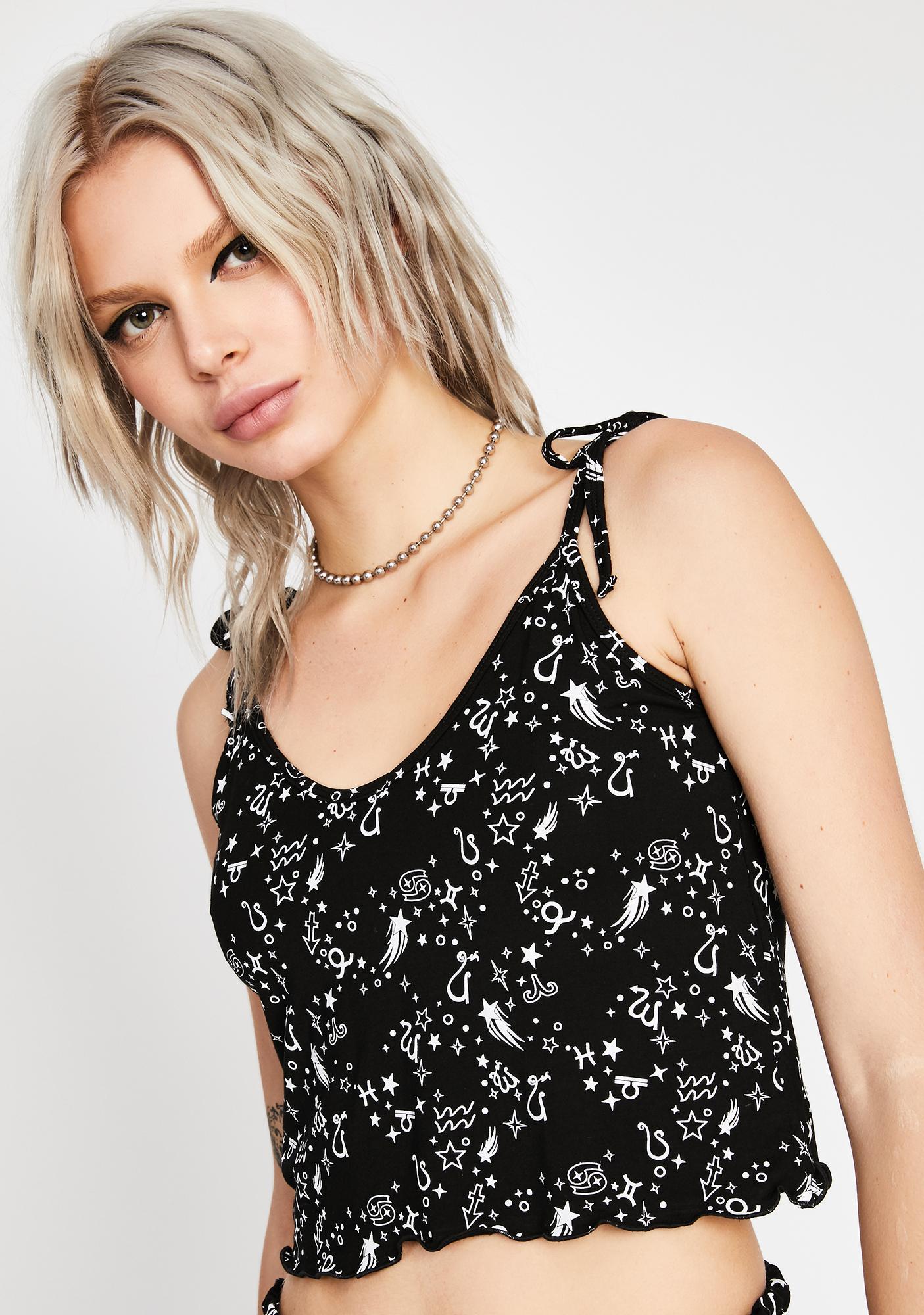 HOROSCOPEZ Cosmic Couture Pajama Top