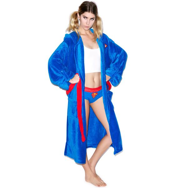 Undergirl Superman Hooded Robe
