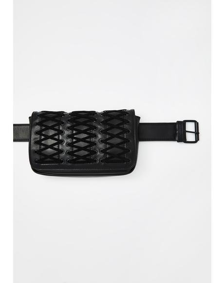 Dancehall Diva Fringe Belt Bag
