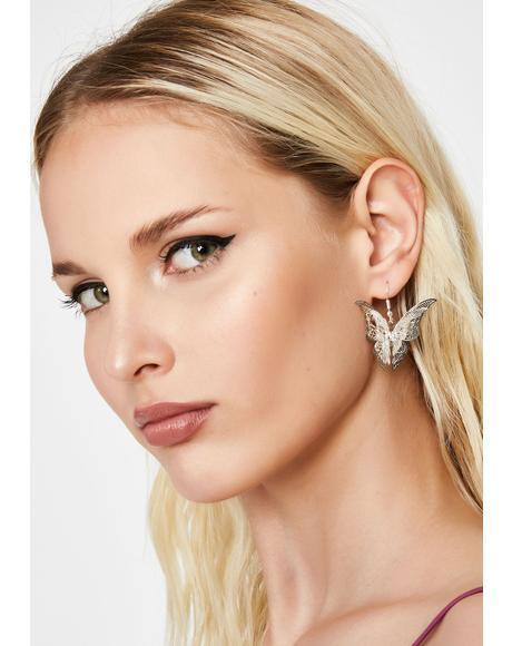 Metamorphosis Butterfly Earrings