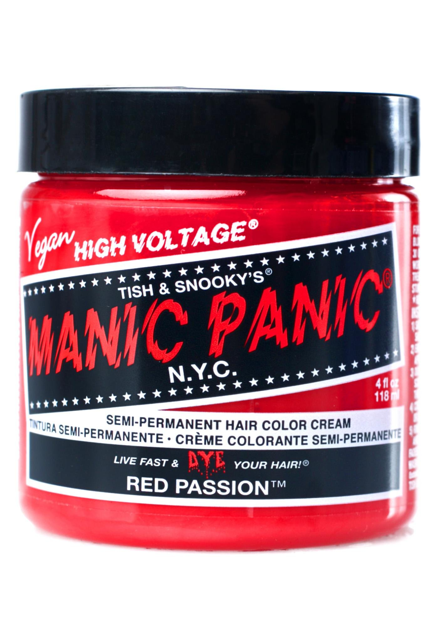 Manic Panic Red Passion High Voltage Hair Dye