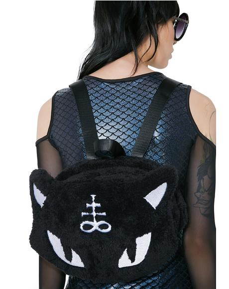 Lucipurr Furry Backpack
