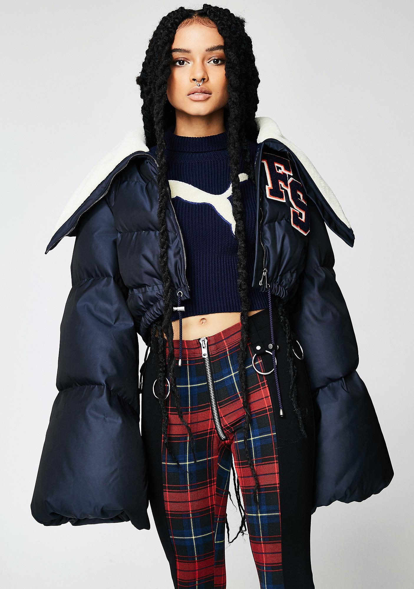 PUMA FENTY PUMA By Rihanna Funnel Collar Quilted Jacket | Dolls Kill : puma quilted jacket - Adamdwight.com
