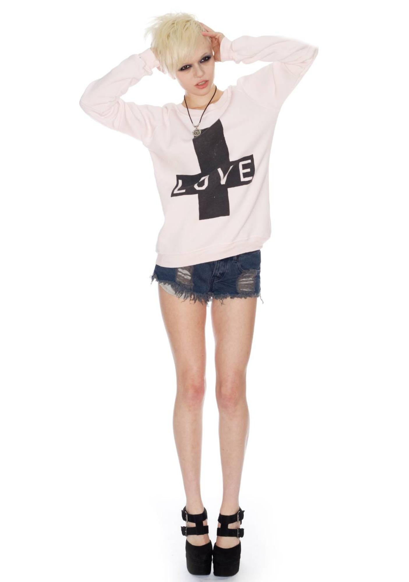 Zoe Karssen Love Cross Sweater