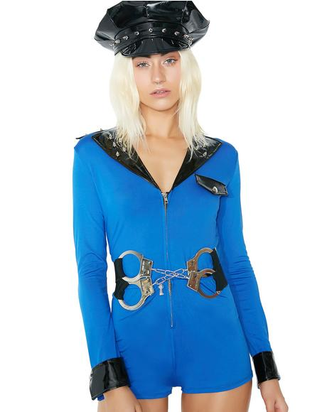 Miss Demeanor Cop Costume