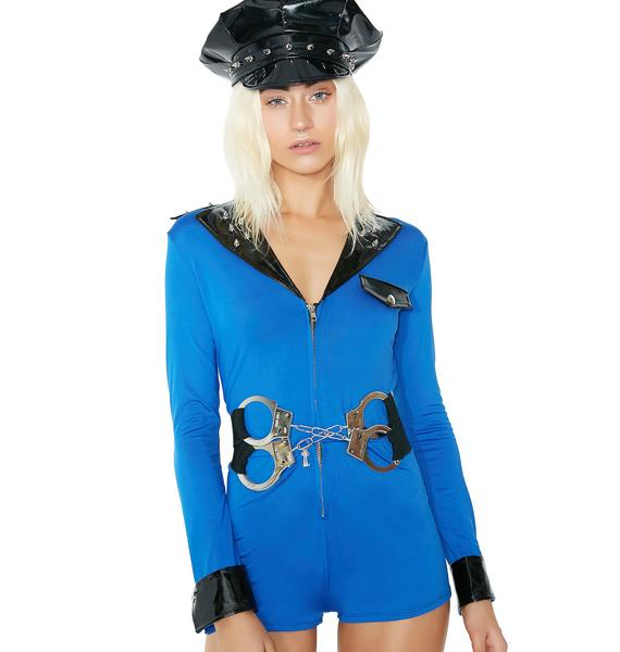 Dolls Kill Miss Demeanor Cop Costume