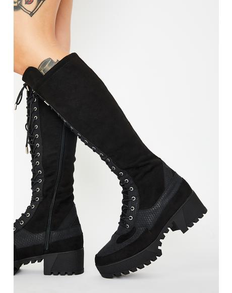 db086b1143f 👢 Women's Punk Boots, Knee High Boots & Ankle Boots | Dolls Kill